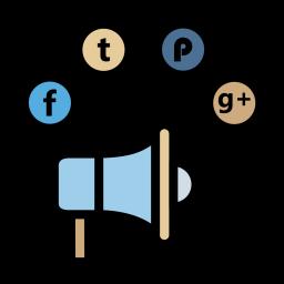 Socialmedia advertising digitalmarketing branding facebook twitter 96 Icon