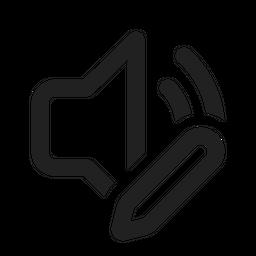 Sound Edit Icon