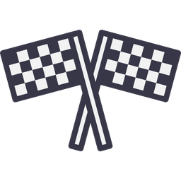 Sports, Car, Bike, Race, RACING, Flag, Start Icon