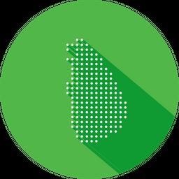 Sri, Lanka, Asian, Country, Map, Nation, Navigation, Location Icon