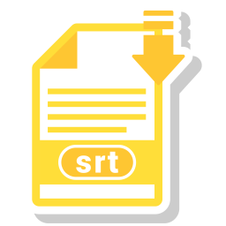 Free Srt File Icon Download In Svg Png Eps Ai Ico Icns Formats