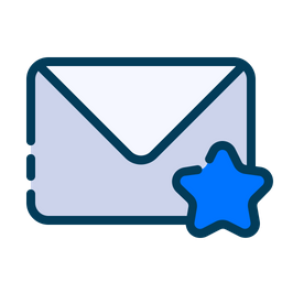 Starred message Icon