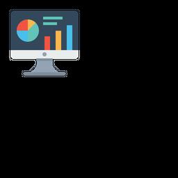 Statics, Analytics, Market, Data, Research, Performance, Graph, Chart Icon