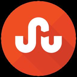 Stumbleupon Flat  Logo Icon