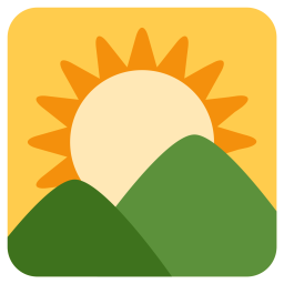 Sunrise Emoji Icon Of Flat Style Available In Svg Png Eps Ai Icon Fonts