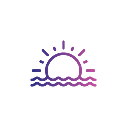 sunset icon of line style available in svg png eps ai icon fonts iconscout