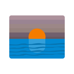 Sunset, Atmosphere, Pink, Sky, Warm Icon