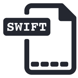 Swift Icon Of Glyph Style Available In Svg Png Eps Ai Icon Fonts