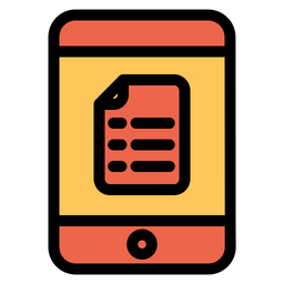 Tablet Notes Icon