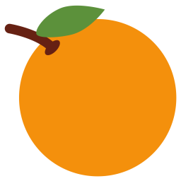 Tangerine Emoji Icon Of Flat Style Available In Svg Png Eps Ai Icon Fonts