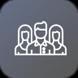 Target, Market, Audience, Social, Media, Marketing, Promotion Icon