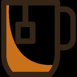 Tea Colored Outline Icon