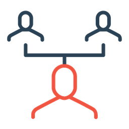 Team, Group, Manager, Hierarchy, Command, Level, Organization Icon