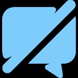 Text, Chat, Bubble, Active, Message, Talk, Conversaion, Disabled Icon png