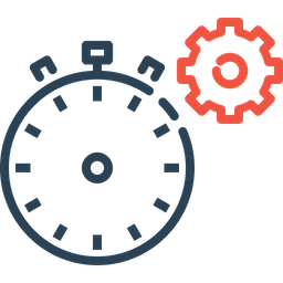 Time, Timer, Page, Response, Optimization, Settings, Gear Icon