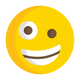 Zany Face Emoji Icon