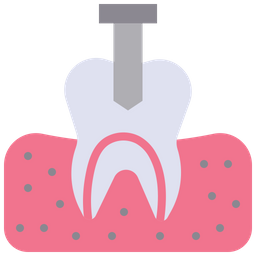 Tooth implant Icon