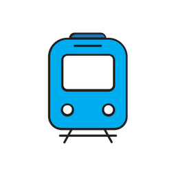 Train Icon Of Colored Outline Style Available In Svg Png Eps Ai Icon Fonts