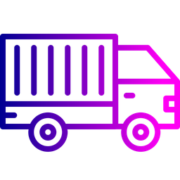 Truck, Shipping, Logistic, Delivery, Transport, Supply, Vehicle Icon