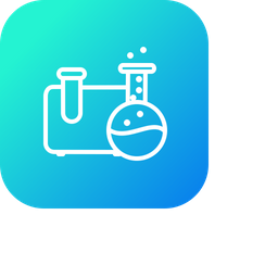 Tube, Lab, Science, Reserch, Test, Beaker, Technology Icon