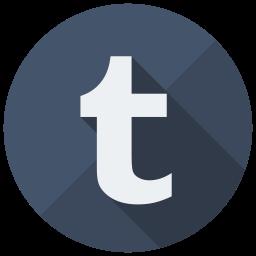 Tumblr Flat  Logo Icon