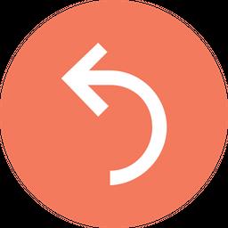 Turn, Curve, Arrow, Arrows, Left, Way, Sign Icon