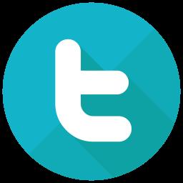 Twitter Flat  Logo Icon