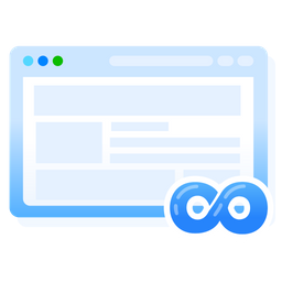 Unlimited websites Icon