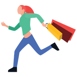 Urgent Shopping Icon Of Flat Style Available In Svg Png Eps Ai Icon Fonts