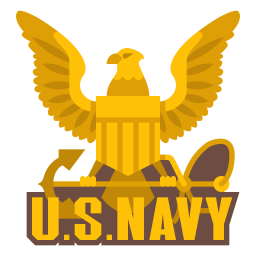 Us navy Icon of Flat style - Available in SVG, PNG, EPS ...