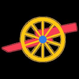 USA Gettysburg Cannon Icon