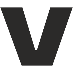 V alphabet Icon of Glyph style - Available in SVG, PNG, EPS, AI