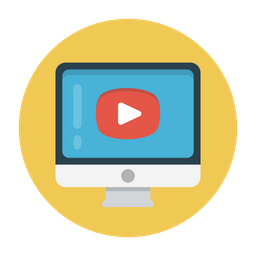 Video Icon - Download in Flat Style