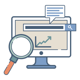 Web, Analysis, Statics, Performance, Search, Engine, Optimization Icon png