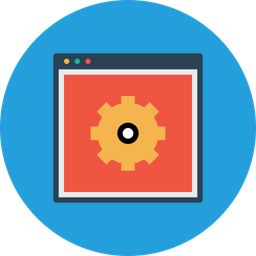 Web, Settings, Gear, Window, Layout, Preferences Icon png