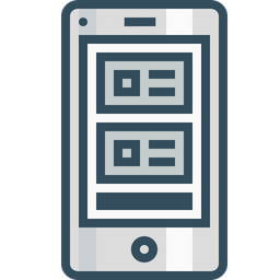 Webpage, Mobile, Photo, Blog, Layout, Wireframe, Browser Icon
