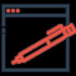 Website, Webpage, Edit, Copyright, Seo, Tools, Pen Icon