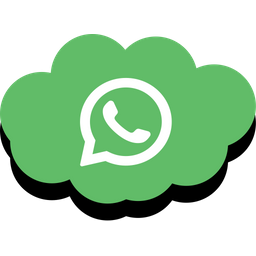 Whatsapp Icon of Flat style - Available in SVG, PNG, EPS, AI