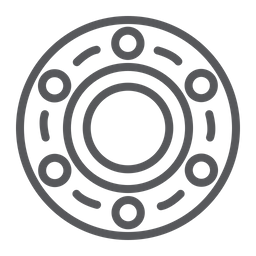 Wheel bearing Icon