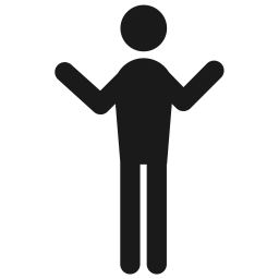 Who, Human, You, Confuse, Man, Male, Behaviour Icon