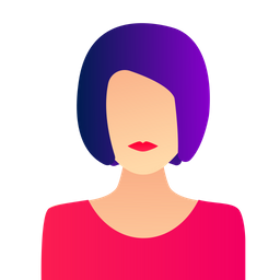 Woman Icon Of Gradient Style Available In Svg Png Eps Ai Icon Fonts