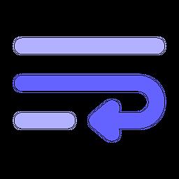 Word-wrap Flat Icon