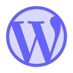 Wordpress Logo Icon Of Flat Style Available In Svg Png Eps Ai Icon Fonts