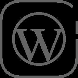 Wordpress Logo Icon