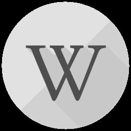Wordpress Flat  Logo Icon