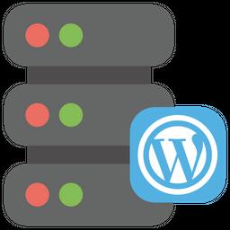 Wordpress web hosting Icon