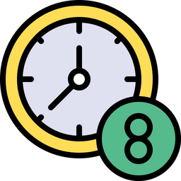 Work timing Icon