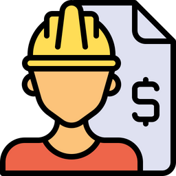 Worker contract Icon