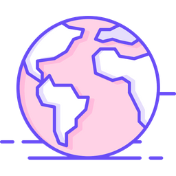 World Icon Of Colored Outline Style Available In Svg Png Eps Ai Icon Fonts