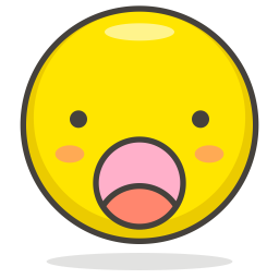 Wow Emoji Icon Of Colored Outline Style Available In Svg Png Eps Ai Icon Fonts